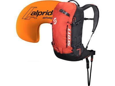 Scott Patrol E1 22 Kit, burnt orange/black - Lawinenrucksack