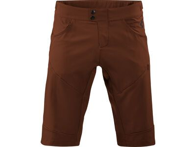 Cube Tour Baggy Shorts, brown - Radhose
