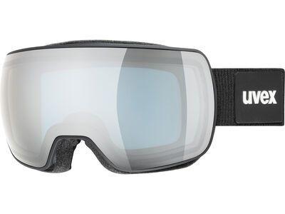 uvex compact FM, black mat/Lens: mirror silver - Skibrille