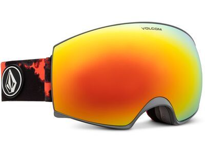 Volcom Magna, smoke/Lens: red chrome - Skibrille