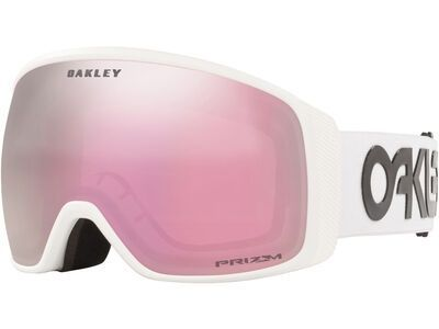 Oakley Flight Tracker XL Prizm Factory Pilot, white/Lens: hi pink iridium - Skibrille
