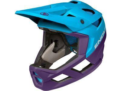 Endura MT500 Full Face Helmet electric blue