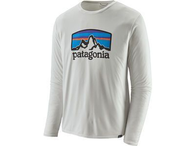 Patagonia Men's Long-Sleeved Capilene Cool Daily Graphic Shirt, white - Funktionsshirt