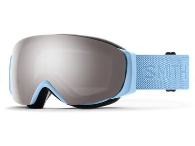 Smith I/O Mag S inkl. WS, smokey blue flood/Lens: cp sun platinum mir - Skibrille