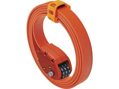 Otto DesignWorks Ottolock Cinch Lock - 152 cm, otto orange - Fahrradschloss