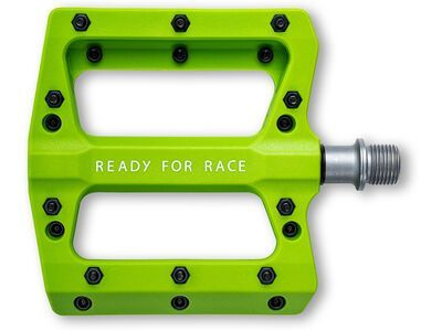 Cube RFR Pedale Flat HPP green