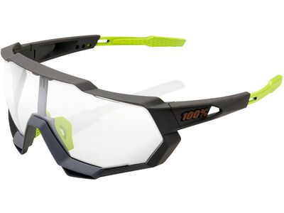 100% Speedtrap Photochromic Clear/Smoke soft tact cool grey