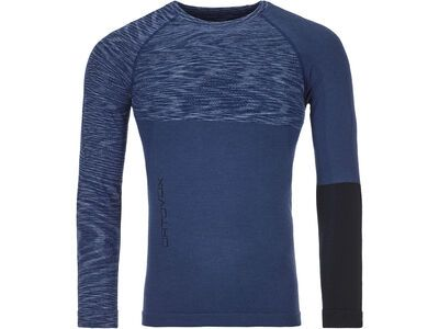 Ortovox 230 Merino Competition Long Sleeve M, night blue blend - Unterhemd
