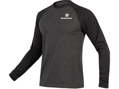 Endura One Clan Raglan L/S, grey - Longsleeve