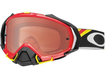 Oakley Mayhem Pro Prizm MX Bronze heritage racer red