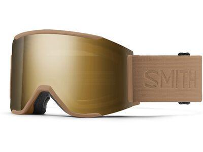 Smith Squad Mag inkl. WS, safari flood/Lens: cp sun black gold mir - Skibrille