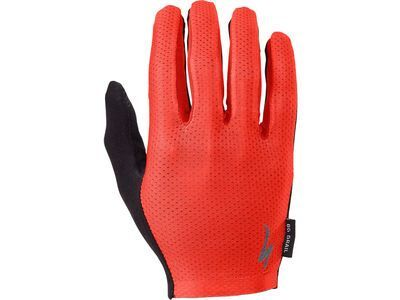 Specialized Body Geometry Grail Long Finger, red - Fahrradhandschuhe