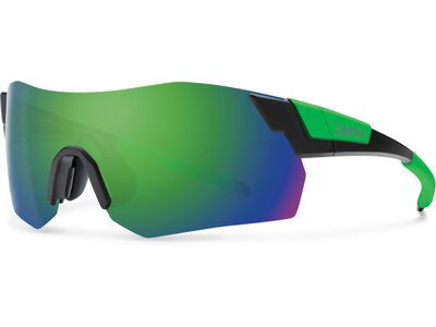 Smith Pivlock Arena Max inkl. WS, black green/lens: cp green mir - Sportbrille