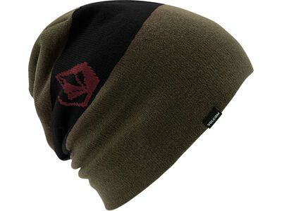 Volcom Deadly Stones Beanie black military