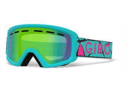 Giro Rev, glacier rock/Lens: loden green - Skibrille