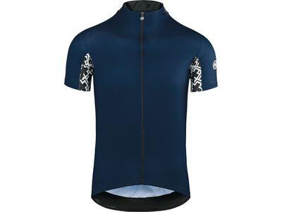 Assos Mille GT Short Sleeve Jersey, caleum blue - Radtrikot