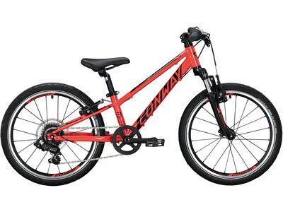 Conway MS 200 Suspension 2021, red/black - Kinderfahrrad