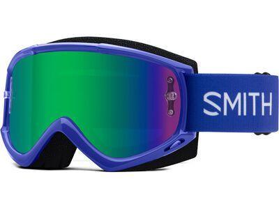 Smith Fuel V.1 inkl. WS, klein blue/Lens: green mir - MX Brille