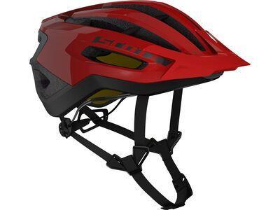 Scott Fuga Plus Rev Helmet, fiery red - Fahrradhelm