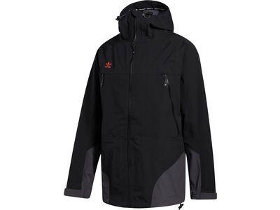 Adidas 3-Layer 20K Jacket, black/orange - Snowboardjacke