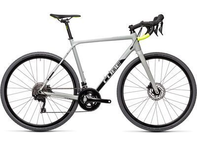Cube Cross Race Pro 2021, grey´n´flashyellow - Crossrad
