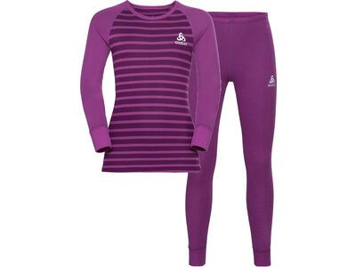 Odlo Active Warm Eco Kids Baselayer Set, violet/charisma