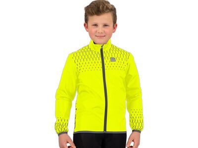 Sportful Kid Reflex Jacket yellow fluo