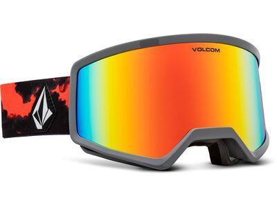 Volcom Stoney, smoke/Lens: red chrome - Skibrille