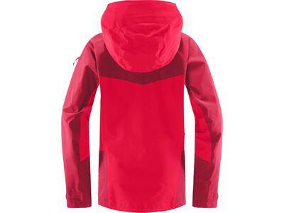 Haglöfs Spitz Jacket Women scarlet red/dala red