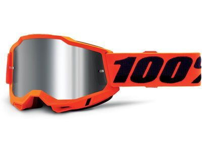 100% Accuri Silver Flash neon orange