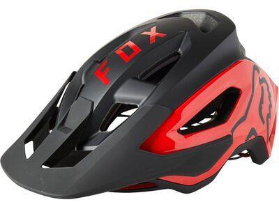 Fox Speedframe Pro Helmet black/red