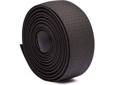 Fabric Silicone Bar Tape, black - Lenkerband