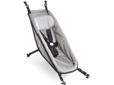 Croozer Babysitz (ab 2014) stone grey/colored