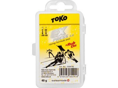 Toko Express Racing Rub-on - Gleitwachs