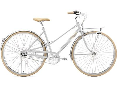 Creme Cycles Caferacer Lady Solo bright silver 2021