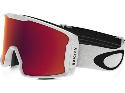 Oakley Line Miner Prizm, matte white/Lens: torch iridium - Skibrille