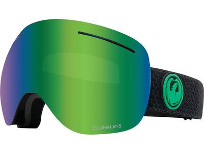 Dragon X1 - Lumalens Green Ionized, split/Lens: lumalens green ion