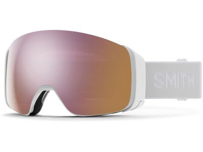 Smith 4D Mag inkl. WS, white vapor/Lens: cp everyday rose gold mir - Skibrille