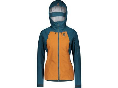 Scott Explorair 3L Women's Jacket, majolica blue/ginger bread - Skijacke