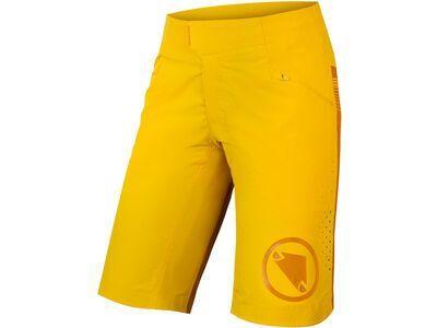 Endura Wms SingleTrack Lite Short - Short Fit saffron yellow