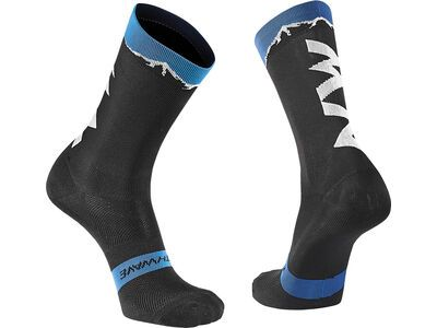 Northwave Clan Socks, black/blue - Radsocken