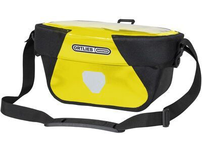 Ortlieb Ultimate Six Classic 5 L, yellow-black - Lenkertasche