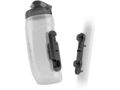 Fidlock Twist Bottle 590 + Bike Base transparent white