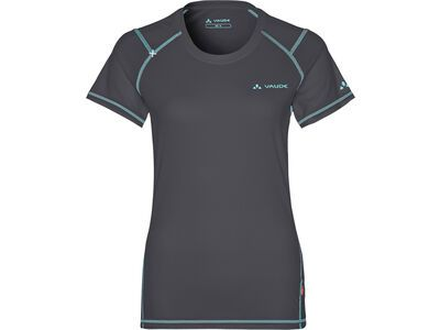 Vaude Womens Hallett Shirt, iron - Radtrikot