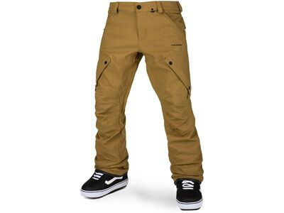 Volcom Articulated Pant, burnt khaki - Snowboardhose