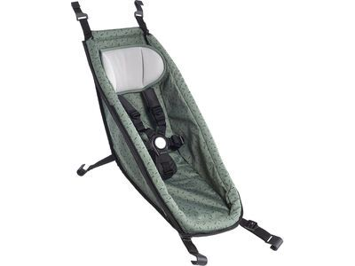 Croozer Babysitz (ab 2014) jungle green/black