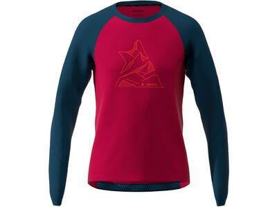 Zimtstern PureFlowz Shirt LS Men jester red/french navy