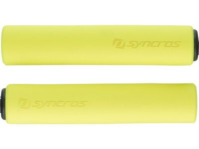 Syncros Silicone Grips, neon yellow - Griffe