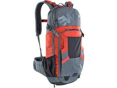 Evoc FR Enduro 16l carbon grey/chili red