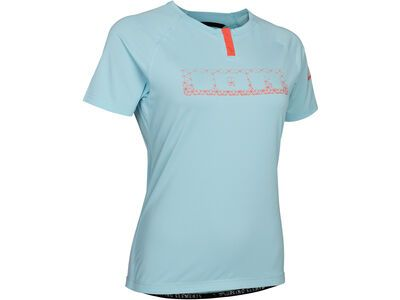 ION Button Tee SS Traze Wms, crystal blue - Radtrikot